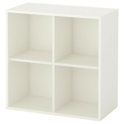 IKEA KALLAX 4 Cube Storage Bookcase Square Shelving Unit White