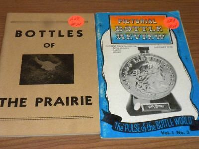 Vintage Bottle Collector Books PB (2) 1967-1970