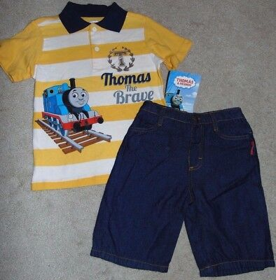 ~NWT Boys THOMAS & FRIENDS Outfit! Size 4T Cute FS:)~