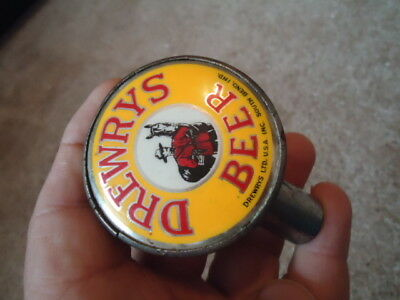 Very Rare Antique Vintage Drewry 's Ball Knob Tap Handle Big Sale Mountie Wow