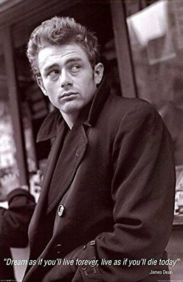 DREAM QUOTE MURAL G210 JAMES DEAN GIANT POSTER 55x40