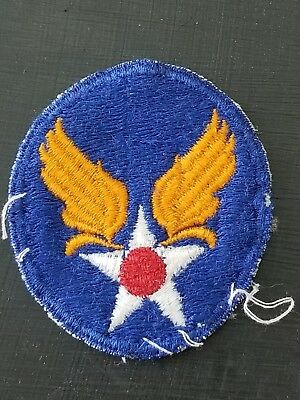 WWII US Army AAC Air Corps HQ Cut Edge Shoulder patch