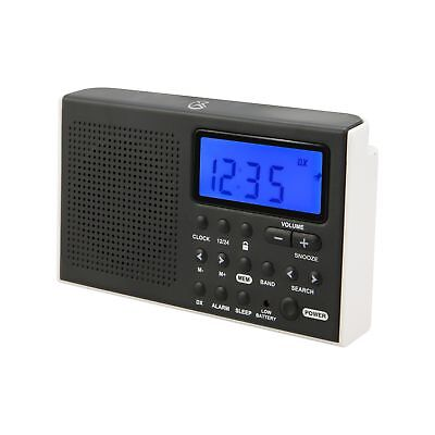 GPX R616W Portable AM/FM/Shortwave Radio
