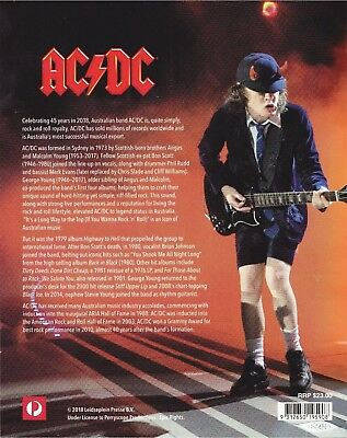 Brand New Mint AC/DC Collectors Edition 2018 45 Years Album Covers Stamp Pack
