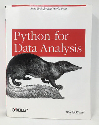 Python for Data Analysis By Wes McKinney ISBN 9781449319793