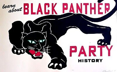 Black Panther Party History - Black Liberation - Poster Signed - New Low Price!