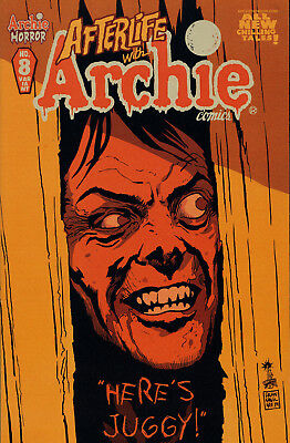 Afterlife with Archie #8 Variant Cover 1st Printing