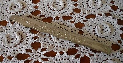 Vintage Silver Plated Epns Comb Handle Cover Holder For Large Comb
