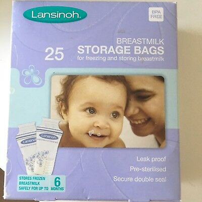 Lansinoh Breastmilk Storage Bags (28 Pieces)