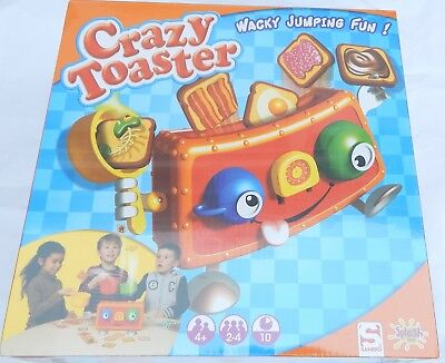 Crazy toaster game family party game board kids fun sambro crazy toaster game