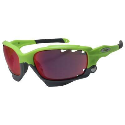 Oakley OO 9171-39 Racing Jacket Retina Burn w/ Prizm Road HI Yellow Sunglasses