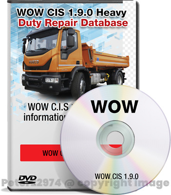 Newest WOW CIS 1.9.0 Trucks Heavy Duty Repair Database Full with keygen