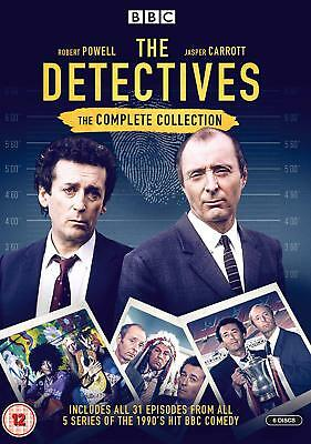Detectives Complete Series 1+2+3+4+5 DVD Box Set Collection R4 BBC New