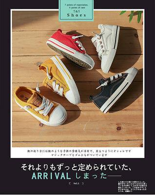Boys Girls Kids Flats Casual Lace up Toddler Child Soft Breathable Canvas Shoes