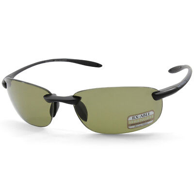 eb74b2295b2c Serengeti Nuvola 8481 Satin Black Green Unisex Polarised Sports Sunglasses