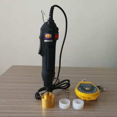 Handheld Electric Capping Machine Bottle Cap Sealing Machines 80W 220V Metal AU