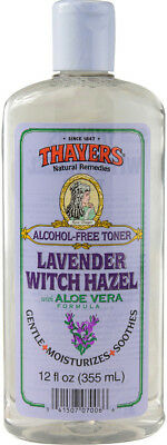 Lavender Witch Hazel with Aloe Vera, Thayers, 12 oz