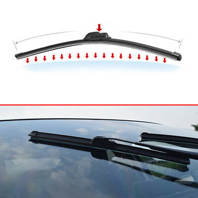 1Piece 22Inch Car Windshield Wiper Blade U-Type Hook Rubber Frameless Bracketles
