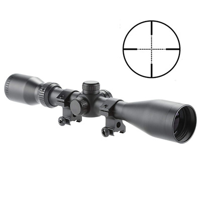 Pro 2.5-10X44 Mil-dot Tactical Rifle Scope Optics Optical Hunting