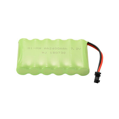 AA NI-MH 7.2V 2400mAh Battery Spare Pack+ USB Charger Cable for Car Model BC751