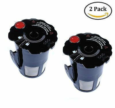 2 pack small coffee filter black reusable coffee filter for keurig ...