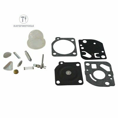 Carburetor Rebuild Kit For Zama RB-47 Poulan WeedEater trimmers Blowers C1Q Carb