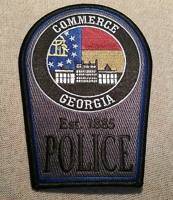 GA Commerce Georgia Police Patch