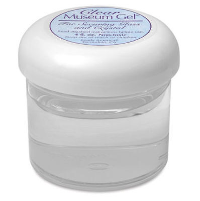 Museum Gel - Clear, for securing glass & crystal objects 110ml jar