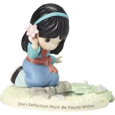 PRECIOUS MOMENTS Disney MULAN One's Reflection Must Be Found Within NEW 181092