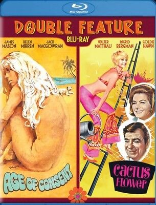 Age of Consent / Cactus Flower (Double Feature) [New Blu-ray] Widescreen