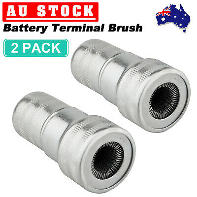 2 Pack Premium Battery Terminal Brush Corrosion & other Dirt Christmas Sale