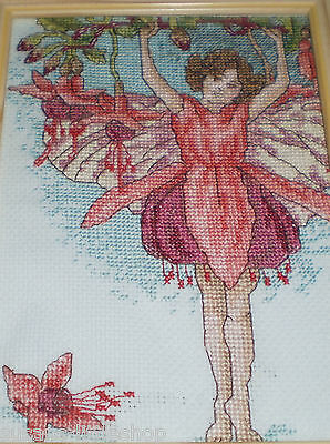 HAND CRAFTED FAIRY TAPESTRY Framed Wall PICTURE