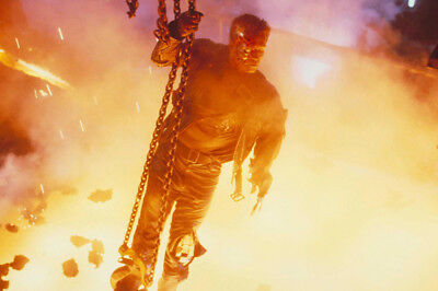 Terminator 2: Judgment Day Arnold Schwarzenegger going into inferno 24X36 Poster