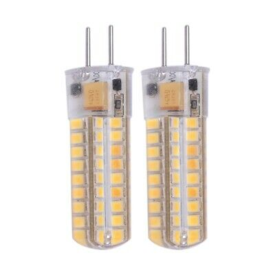 2x 6.5W G4 LED Bulbs 72 2835 SMD LED 50W Halogen Bulbs Equivalent 320lm Dim M5L1
