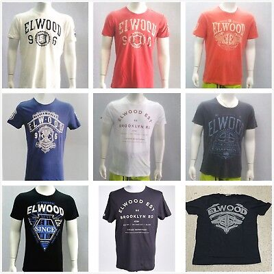 Special Elwood Mens Sport Casual Tops T-shirt S/S Tee Classic Shirt Size S-XXL