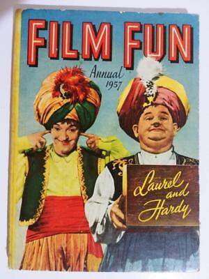 FILM FUN ANNUAL 1957 * Laurel and Hardy on Cover *