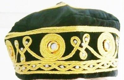 Oriental Folkloric Fez, Authentic Turkish Fes, Handmade Cap, Exotic Ottoman Hat