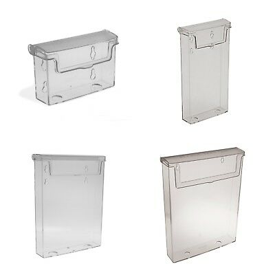 A4,A5,DL/Trifold, Outdoor Leaflet Holders Waterproof Dispenser Exterior Display