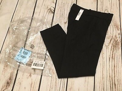 a1505af2bac JCrew  89 Petite Cameron Slim Crop Pants Four-Season Stretch 2P Black