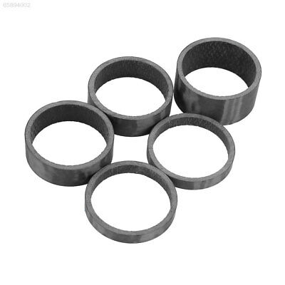 1F17 5PCS/Pack Bicycle Headset Carbon Fiber Washer Spacer For Mountain Bike Refi