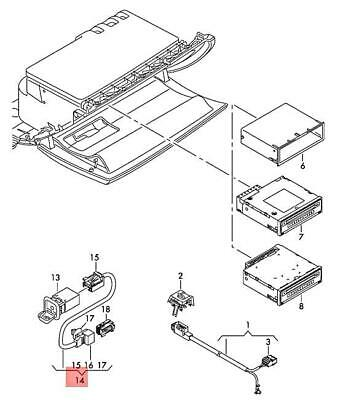 Audi Allroad A6 Adapter 13 Pin Eu To Flat 4 Usa Trailer Tow Hitch