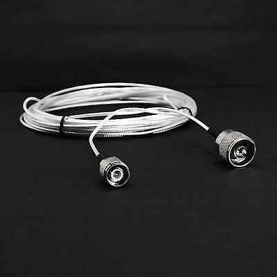 30' RG316 Coax Coaxial Cable N Male to TNC Male Boston Amplifier 121-30  NEW