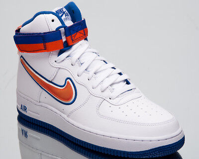 promo code f52f8 2074f Nike Air Force 1 High  07 LV8 Sport NBA Knicks Men New White Orange AV3938