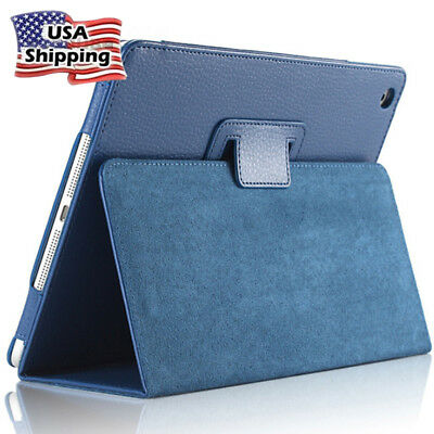 iPad Pro 10.5 Leather Case 2018 iPad 9.7 Cover Shockproof Cases Stand Tablet