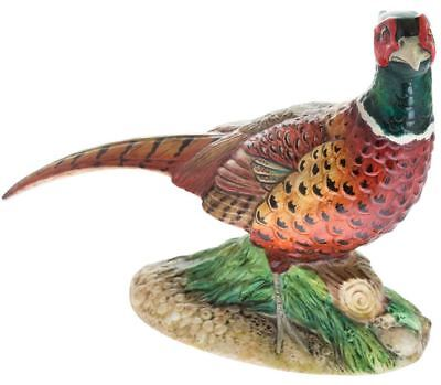 John Beswick male cock pheasant figure, ceramic bird ornament JBB35