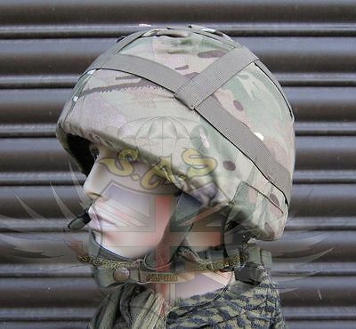 New British Army Surplus Mtp Camouflage Mk.6 Cotton Cover Will Fit Para Lid-Sas