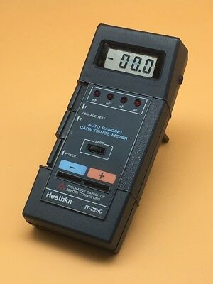 Heathkit IT-2250 Auto-Ranging Capacitance Meter / Capacitor Checker - READ