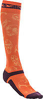 Fly Racing - Mx Atv Moto Racing Boot Socks Orange Purple - Sm/md Sock Size 5-9