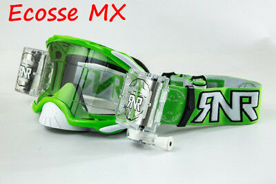 RIP N ROLL RNR COLOSSO X Roll Off MX Motocross Goggle Lens-fumo XCL