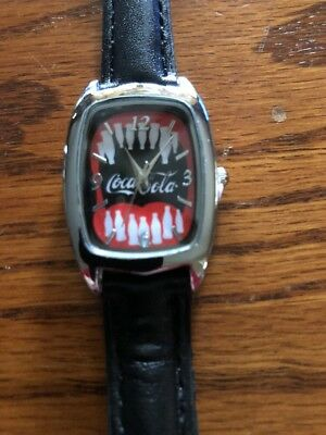 Brand New For 2018 Is This Fashionable Coca Cola Wristwatch